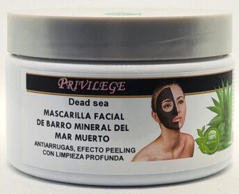 Mascarilla Facial Barro Con Aloe Vera